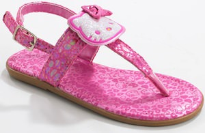 Hello Kitty little girls shoes