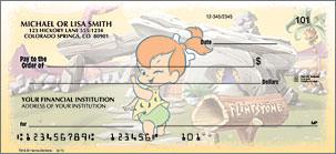 The Flintstones banking checks