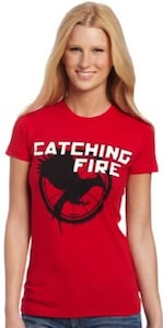 Catching Fire women's T-Shirt