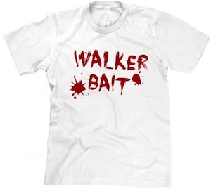 The Walking dead Walker Bait zombie t-shirt