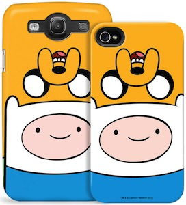Adventure Time Jack And Finn iPhone And Samsung Galaxy S Case