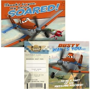 Disney Planes Invitations & Thank You Notes