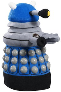 Dr. Who Blue Talking Dalek Plush