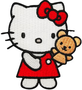 Hello Kitty clothing Patch
