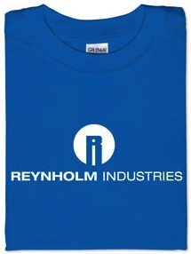 Reynholm Industries from it crowd as t-shirt