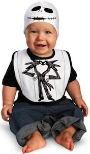 Jack Skellington baby Bib And Hat