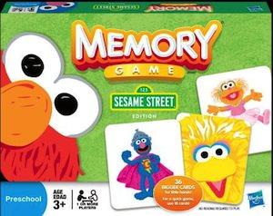 Hasbro Sesame Street Memory Game