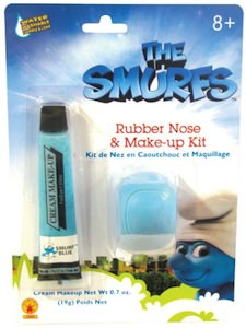 The Smurfs Nose And Makeup Kit