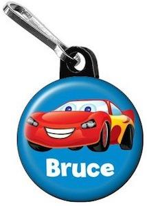 Cars Lightning McQueen Zipper Pull