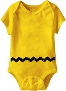 Peanuts Charlie Brown Baby Bodysuit