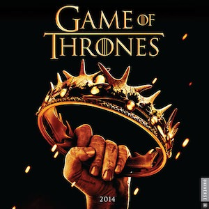 2014 Game Of Thrones Wall Calendar