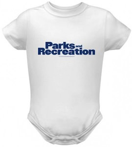 Parks And Recreation logo Baby snapsuit