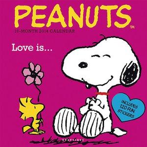 2014 Peanuts Wall Calendar