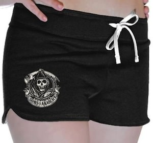 Sons Of Anarchy Reaper Women's Booty Shorts