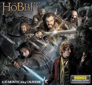 The Hobbit An Unexpected Journey Wall Calendar 2014
