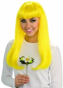 The Smurfs Yellow hair Smurfette Wig