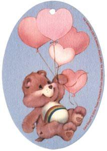Cheer Bear Air Freshener from the Care Bears