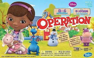 Doc McStuffins Hasbro Operations Game