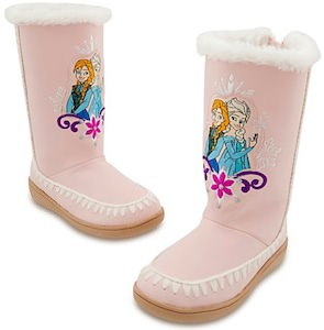 Frozen Anna And Elsa Boots