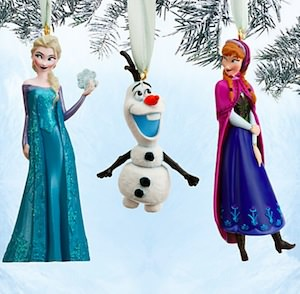 Frozen Christmas Ornament Set
