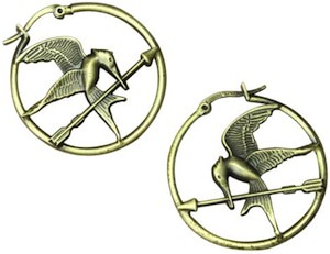 The Hunger Games Mockingjay Hoop Earrings