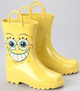 Spongebob Rain Boots