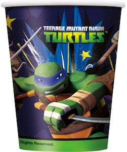Teenage Mutant Ninja Turtles Party cups
