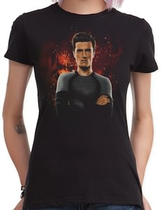 The Hunger Games Catching Fire Peeta girls T-Shirt