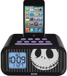 Jack Skellington Alarm Clock for iPhone