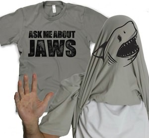 Aks Me About Jaws T-Shirt