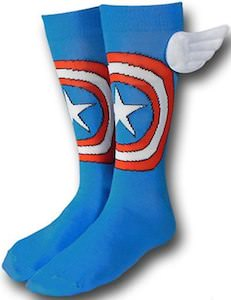 Captain America Socks with wings