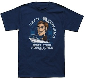 Dexter Morgan Boat Tour T-Shirt