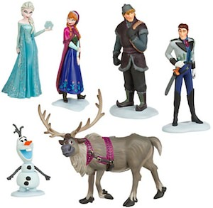 Disney Frozen 6 figures to play with
