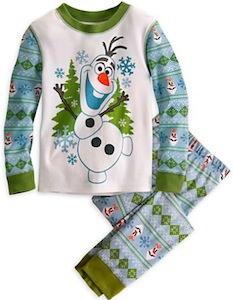 Disney Frozen Olaf The Snowman Pajamas