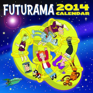 Futurama 2014 Wall Calendar