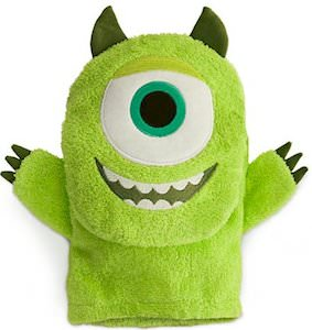 Monsters University Mike Wazowski Bath Mitt