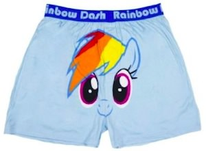 Rainbow Dash Men's Boxer Shorts