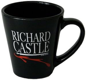 Richard Castle Black Coffee Mug