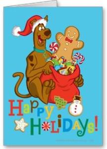 Scooby-Doo Christmas Card