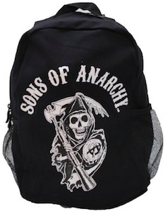 Sons Of Anarchy Reaper Logo Backpack from SAMCRO