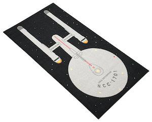 Star Trek USS Enterprise Rug