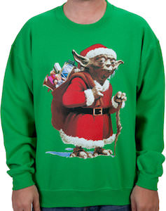 Star Wars Yoda Christmas Sweater