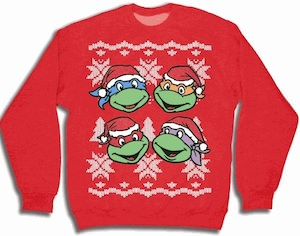 Teenage Mutant Ninja Turtles sweater for Christmas
