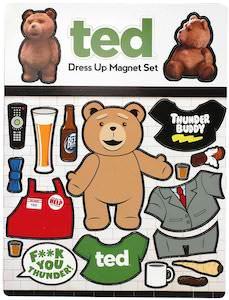 Ted Dress Up Magnet Set