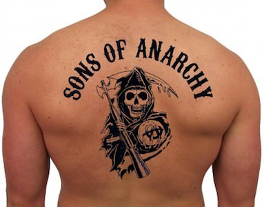 Sons Of Anarchy Temporary Tattoos