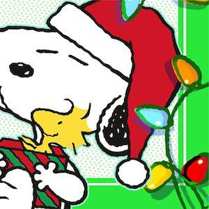 Peanuts Christmas Napkins